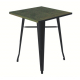 TB87 Tolix vintage bistro table hire