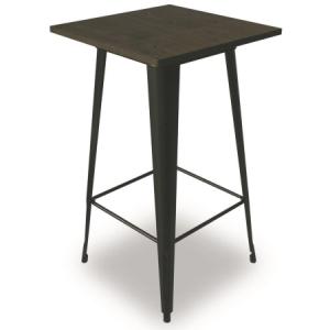 TB89 Tolix vintage bar table hire