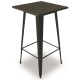 TB89 Tolix vintage bar table hire