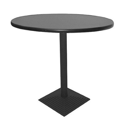 TB93 Nero bistro table hire