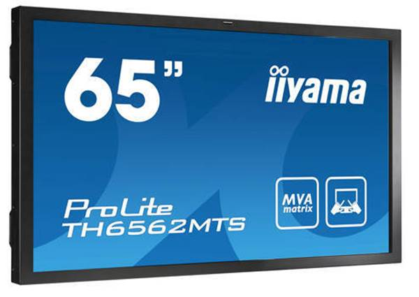 65 inch touch screen hire - iiyama LH6562MTS