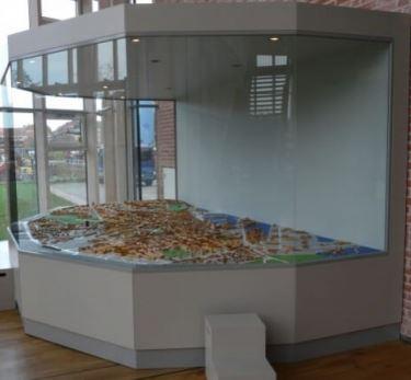 Built in museum showcase 1