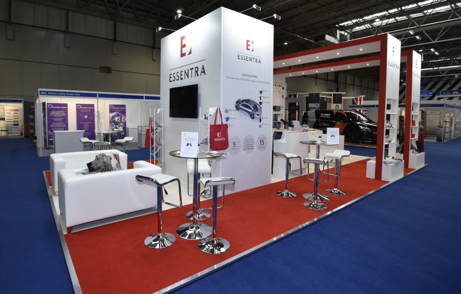10m x 6m exhibition stand at Automechanika- 2