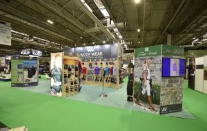 10m x 3m exhibition stand at BETA International