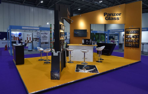 7m x 4.5m exhibition stand at BETT