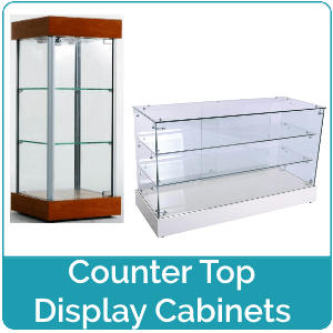 Counter Top Display Cabinets