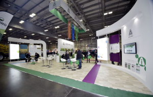 16m x 16m exhibition stand at Croptec