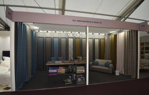 6m x 3m shell scheme exhibition stand at Decorex