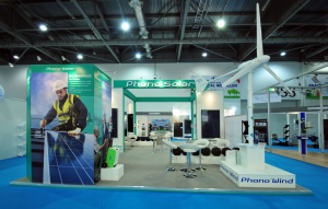 10m x 7m exhibition stand at Ecobuild