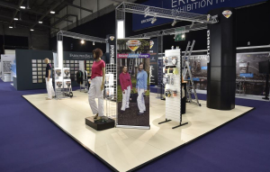 9m x 6m exhibition stand at National Painting and Decorating Show - 2