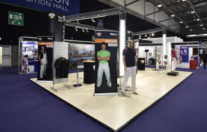 9m x 6m exhibition stand at National Painting and Decorating Show