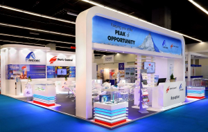 12.5m x 8m exhibition stand at Paperworld