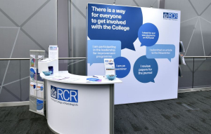 Royal College of Radiologists exhibition stand at RCR - 4