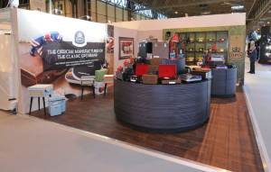 6m x 5m exhibition stand at Spring Fair
