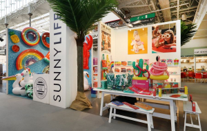 7.5m x 6m exhibition stand at Top Drawer