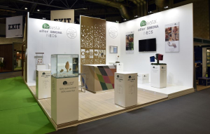 7m x 6m exhibition stand at UK Construction Week