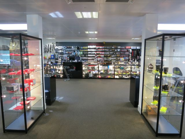 Glass Display Cases for Olympic Villag
