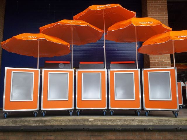 Handcarts for London 2012 Olympics
