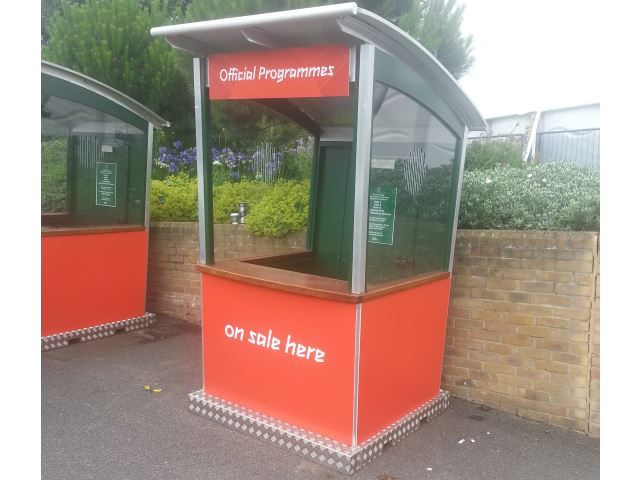 Kiosks for London 2012 Olympics