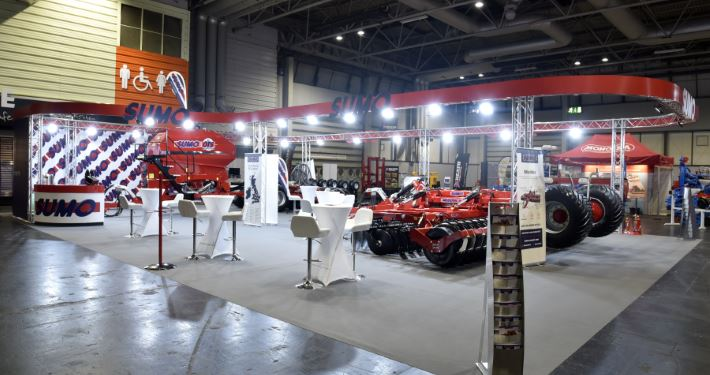 18m x 10m exhibition stand at LAMMA