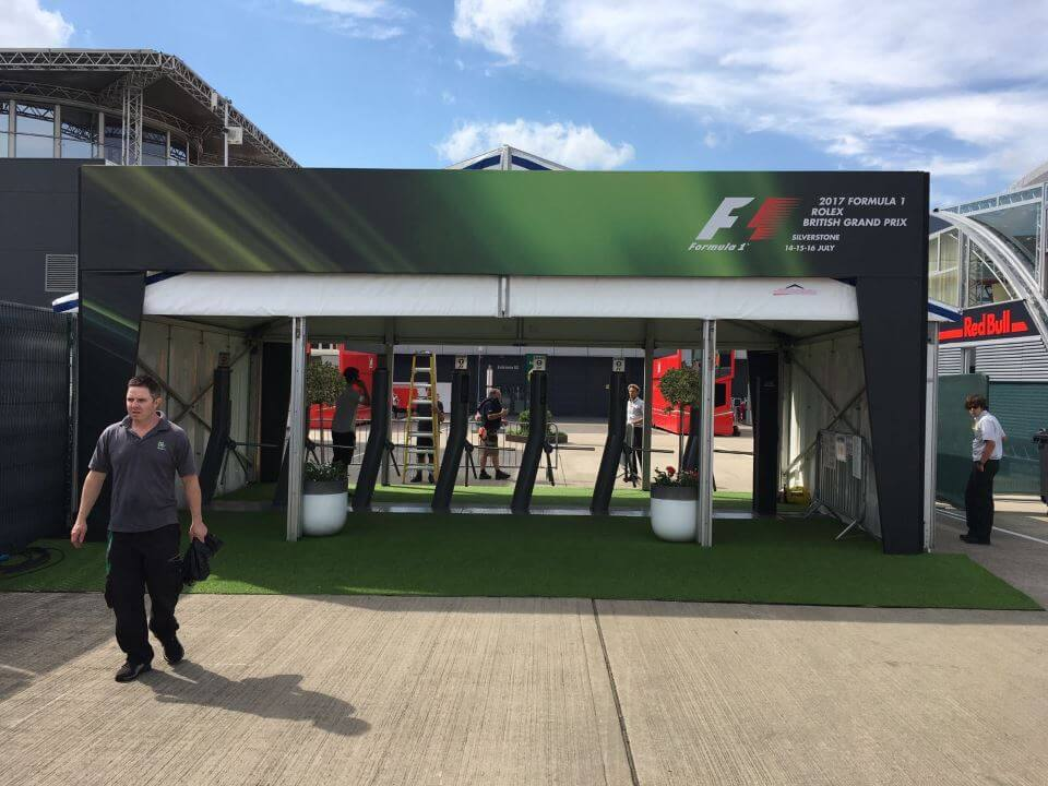 Event marquee - F1 British Grand Prix