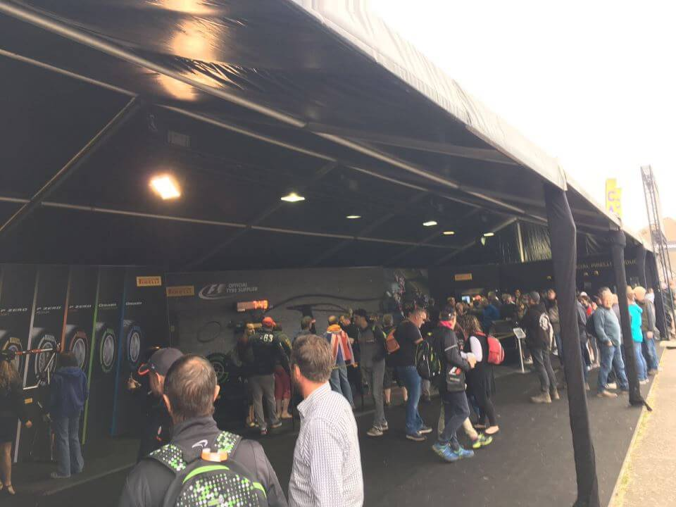 Inside the Pirelli Marquee - F1 British Grand Prix
