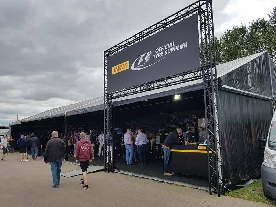 Pirelli Marquee - F1 British Grand Prix
