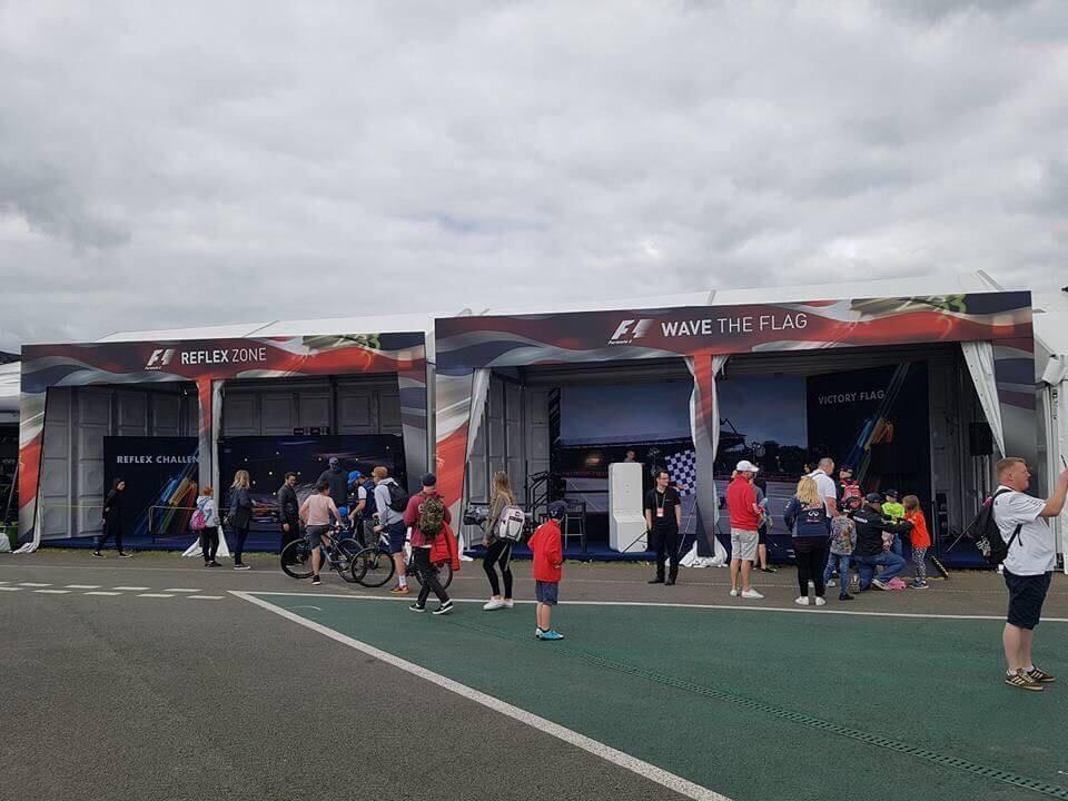 Marquees - F1 British Grand Prix