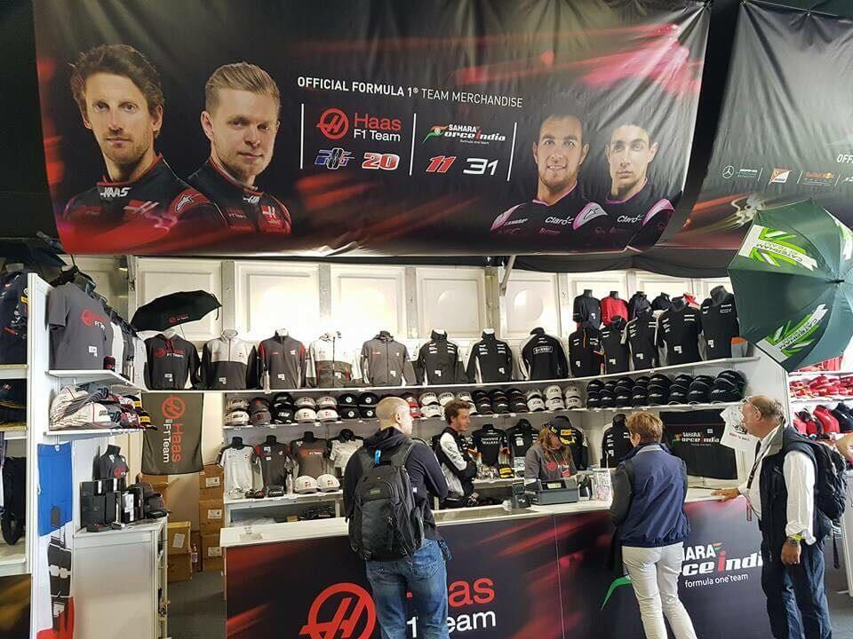 Merchandise Stand - F1 British Grand Prix