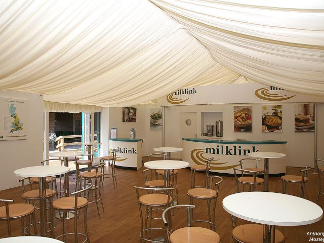 Milklink outdoor exhibition stand