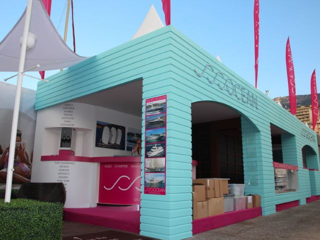 Ocean Independence outdoor exhibition stand