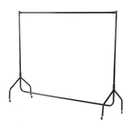 AC01BK Garment rail in Black for hire