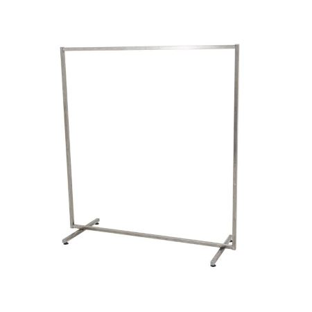 AC01CR Garment rail in Chrome for hire