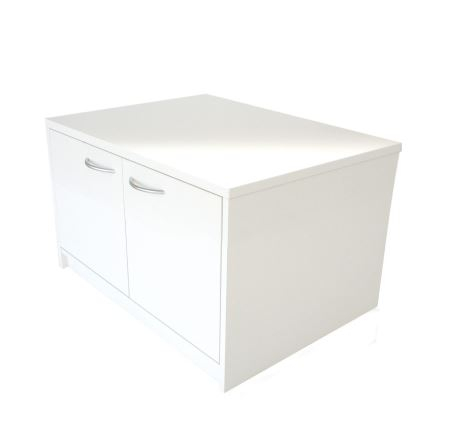 CB03 Pure Low Cupboard for hire