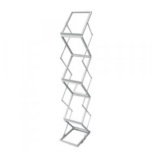 DP49 Folding Literature Rack for hire