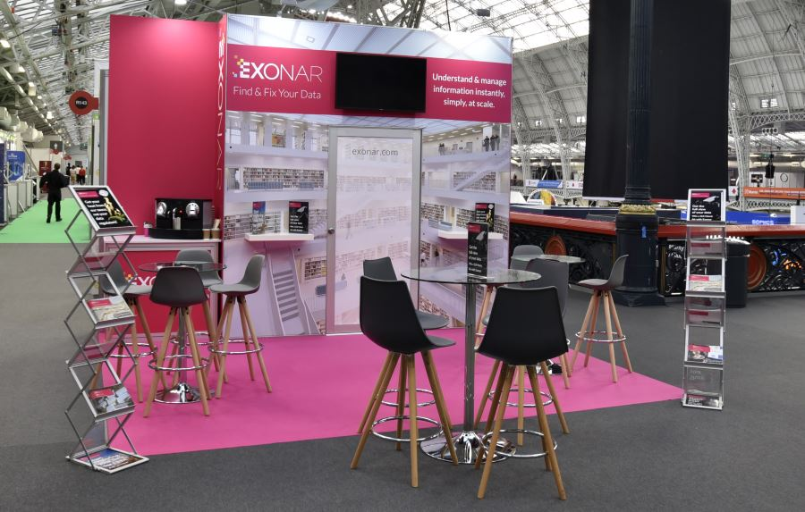 3.5m x 3m exhibition stand hire