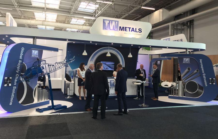 10m x 6m exhibition stand at International Paris Air Show