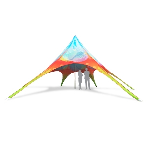 Star Tent Outdoor Display