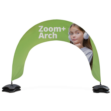 Zoom Plus Arch Outdoor Banner