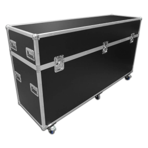 Exhibition flight case - 2450mm wide