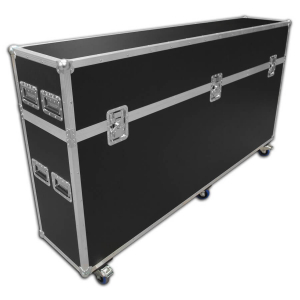 Exhibition graphic panel flight case - 2150mm wide