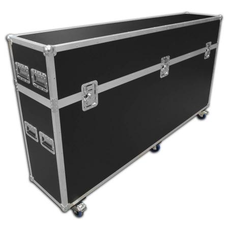 Exhibition graphic panel flight case - 2450mm wide