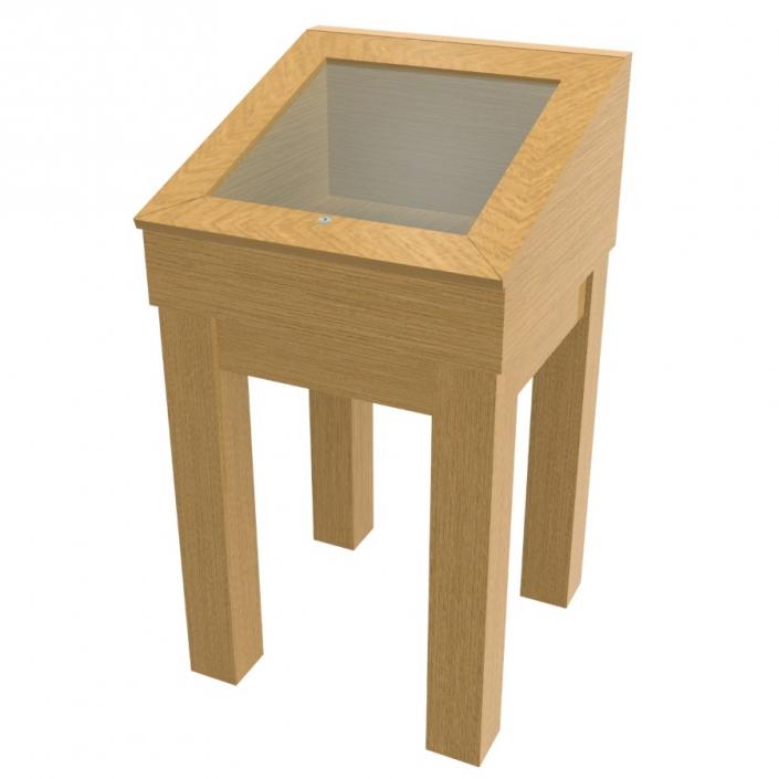 Wood Glass Display Case - Design 1