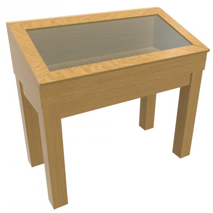 Wood Glass Display Case - Design 2