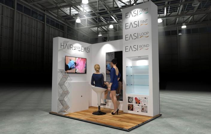 3m x 2m Modular Exhibition Stand
