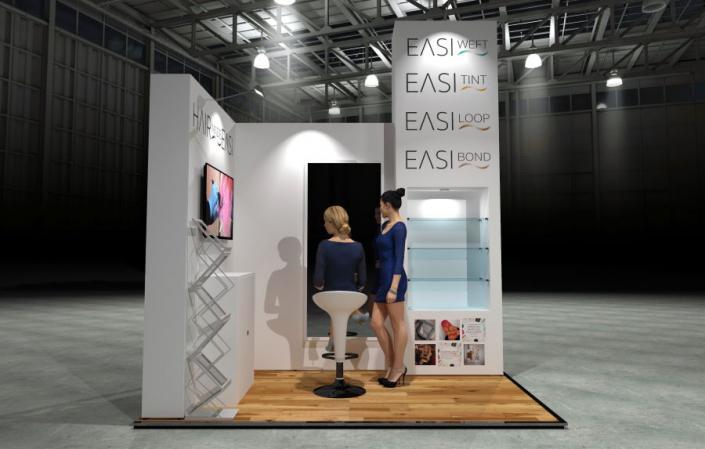 3m x 2m Modular Exhibition Stand - 2