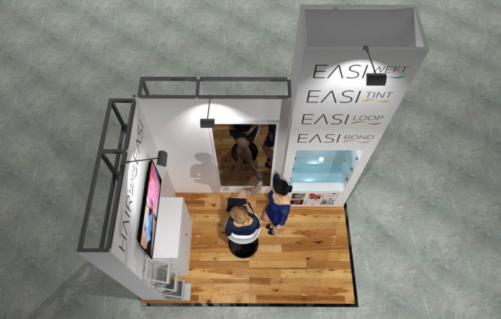 3m x 2m Modular Exhibition Stand - 4