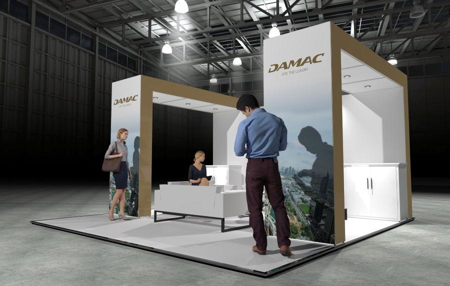 5m x 5m Modular Exhibition Stand - 1