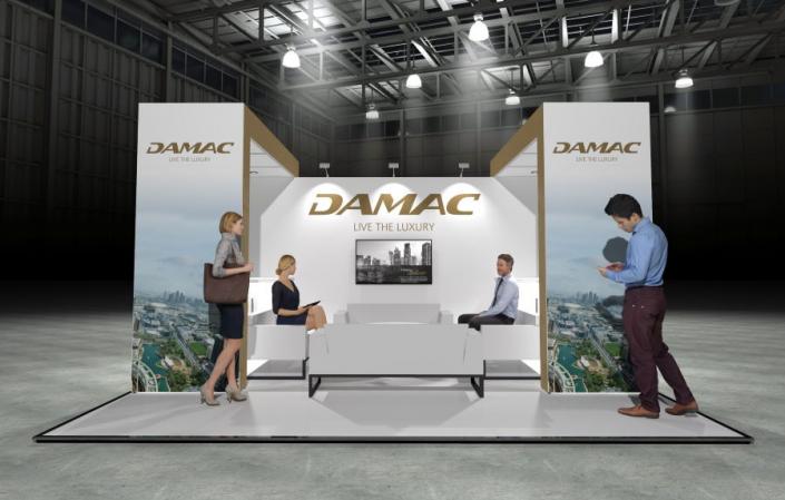 5m x 5m Modular Exhibition Stand - 2