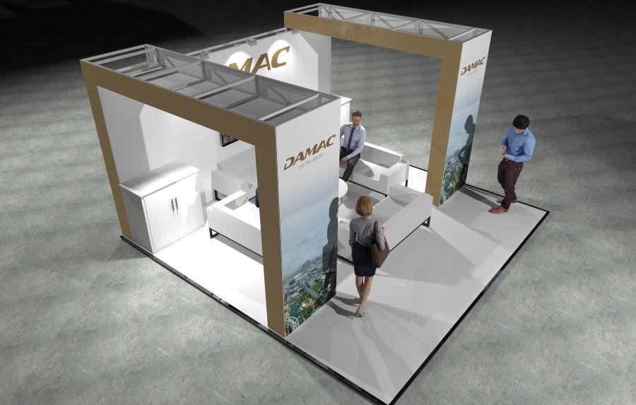 5m x 5m Modular Exhibition Stand - 3